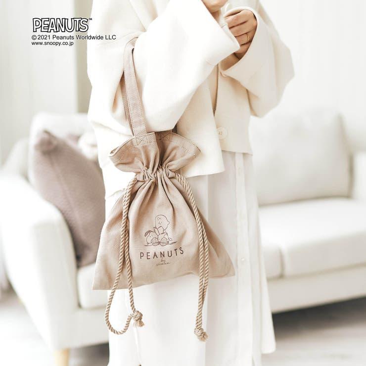 PEANUTS(ピーナッツ) 巾着トートバッグ | F.O.Online Store | 詳細画像1