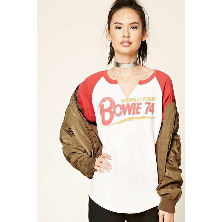 BowieグラフィックTourTシャツ
