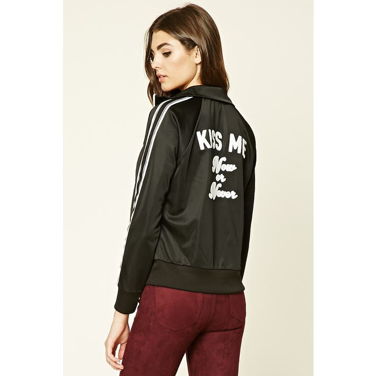 Kiss Meサテントラックジャケット