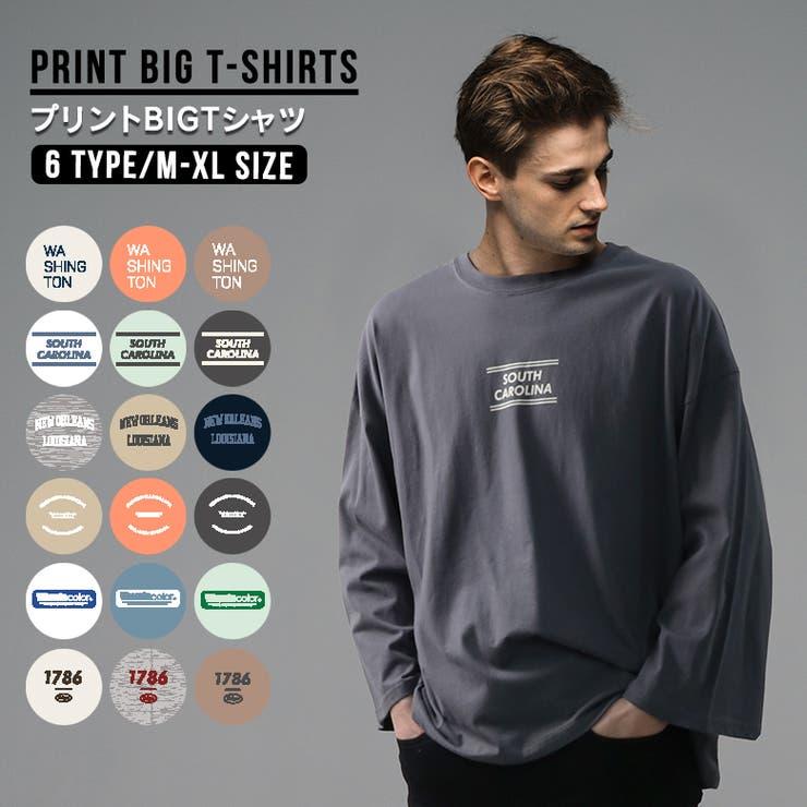 ビッグTシャツ メンズ ビッグシルエット   FREE STYLE   詳細画像1