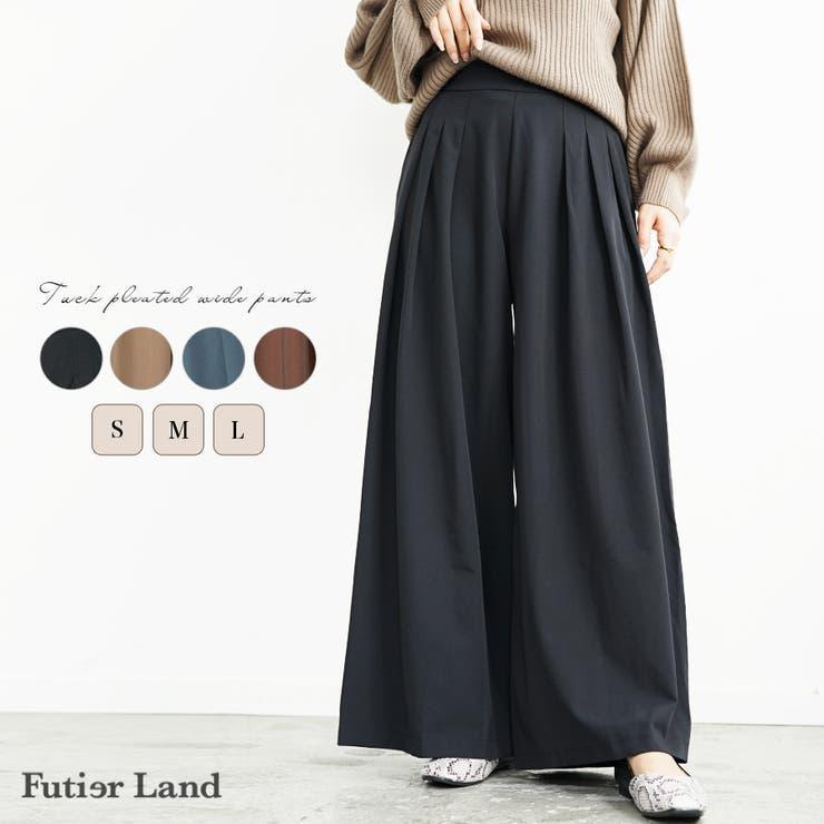 futier landのパンツ・ズボン/ワイドパンツ | 詳細画像