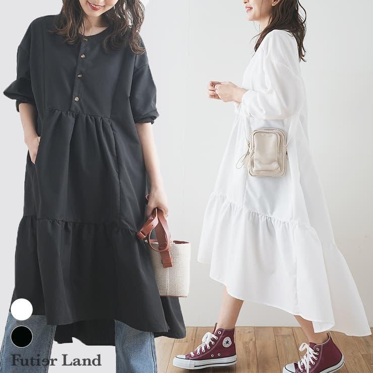 futier landのワンピース・ドレス/シャツワンピース   詳細画像