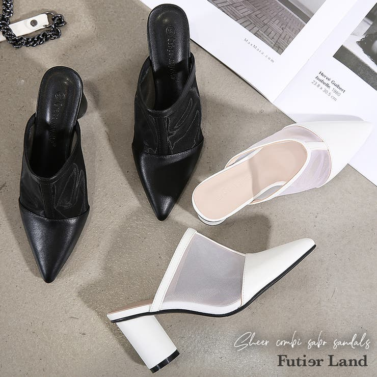 futier landのシューズ・靴/サボサンダル   詳細画像