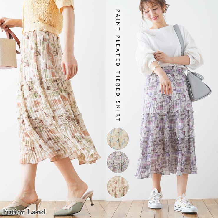 futier landのスカート/ティアードスカート | 詳細画像