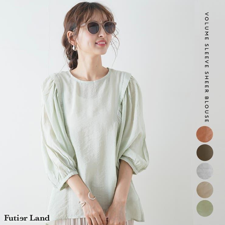 futier landのトップス/ブラウス   詳細画像