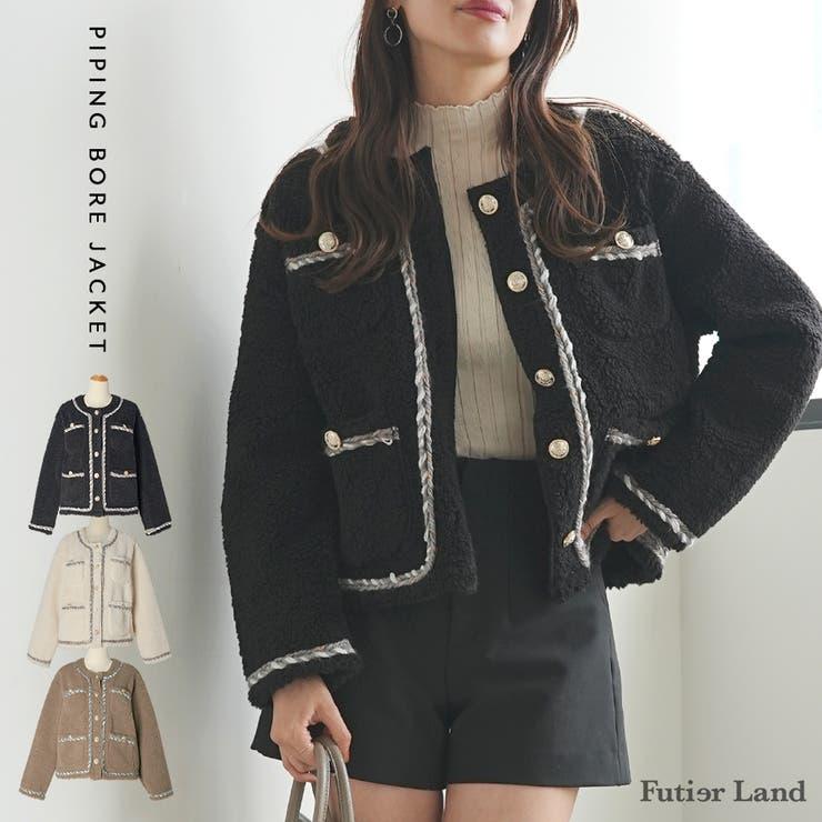コート ジャケット ブルゾン   futier land   詳細画像1