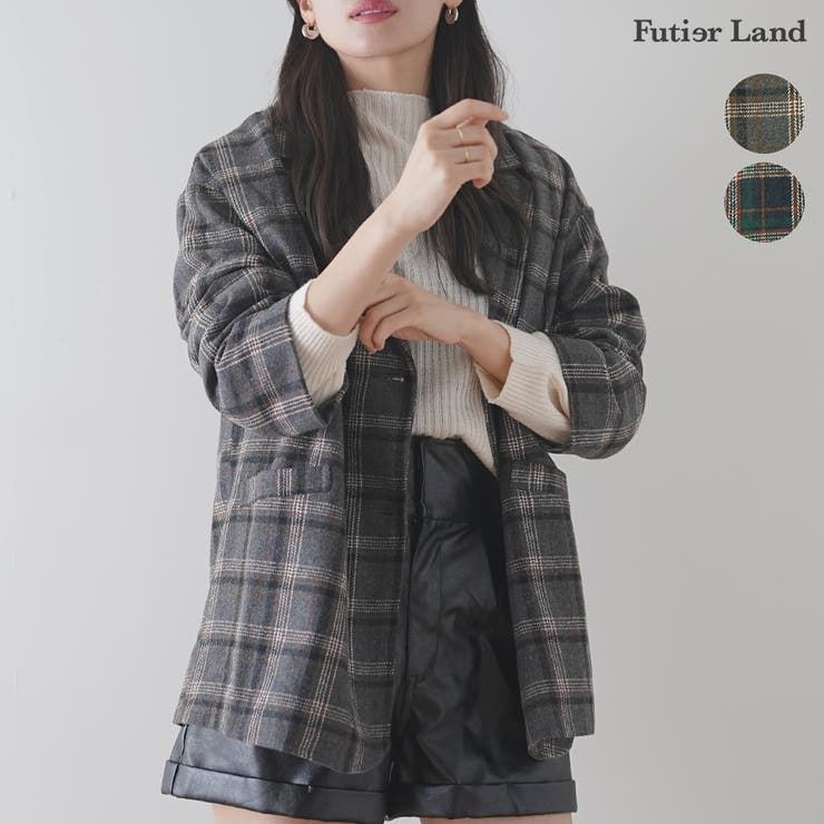 アウター コート ジャケット   futier land   詳細画像1