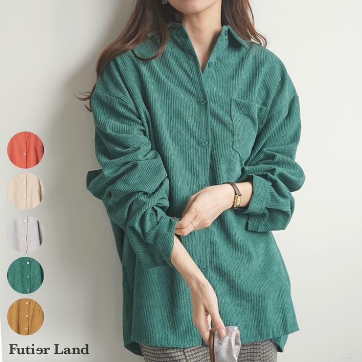 シャツ コーデュロイ BIGシャツ | futier land | 詳細画像1