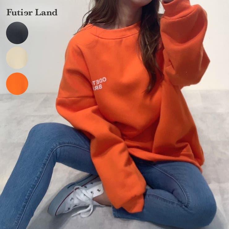 スウェット ロゴ バックロゴ | futier land | 詳細画像1