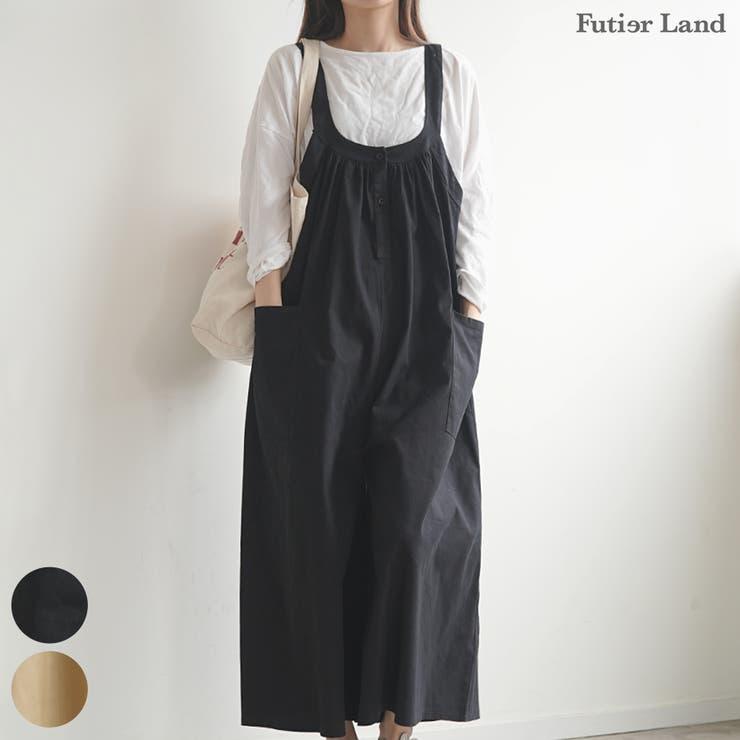 サロペット オーバーオール オールインワン | futier land | 詳細画像1