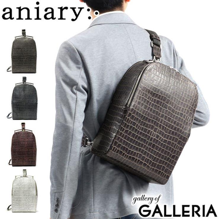 正規取扱店 アニアリ ボディバッグ   ギャレリア Bag&Luggage   詳細画像1