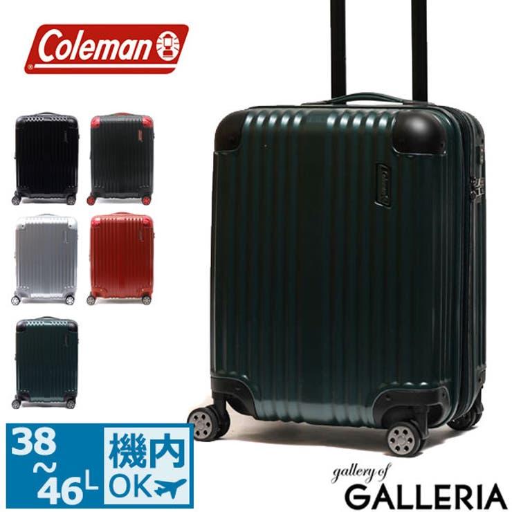 スーツケース Coleman 18インチキャリーケース   ギャレリア Bag&Luggage   詳細画像1