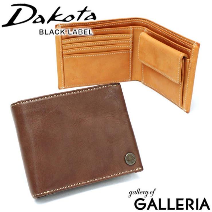 二つ折り財布 Dakota BLACK   ギャレリア Bag&Luggage   詳細画像1
