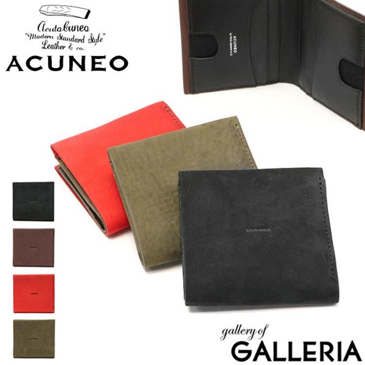 財布 ACUNEO 二つ折り財布   ギャレリア Bag&Luggage   詳細画像1