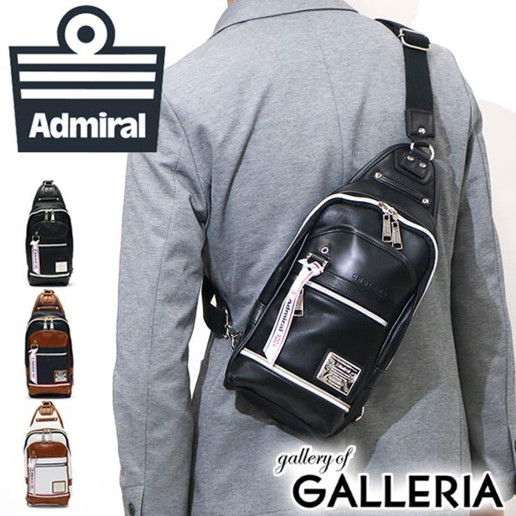 ボディバッグ Admiral 斜めがけバッグ   ギャレリア Bag&Luggage   詳細画像1