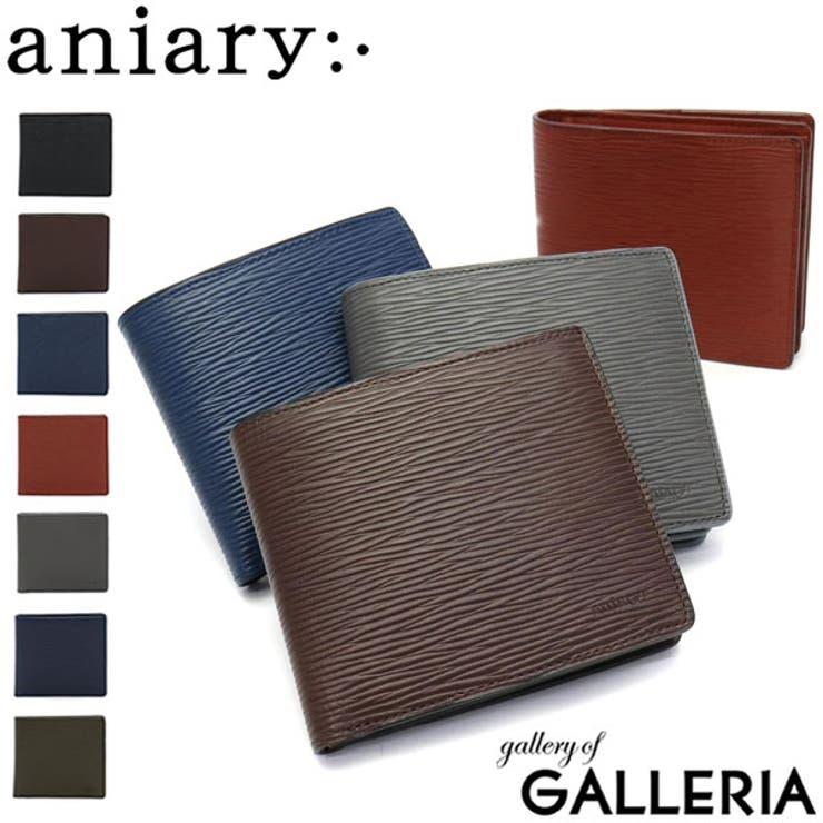 財布 革 二つ折り財布   ギャレリア Bag&Luggage   詳細画像1