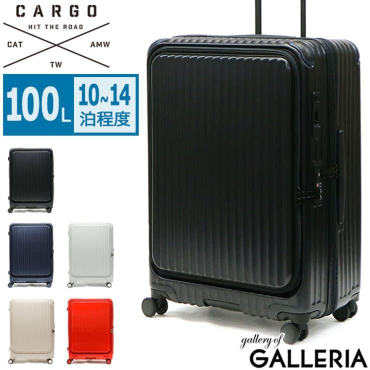 カーゴ スーツケース Lサイズ   ギャレリア Bag&Luggage   詳細画像1