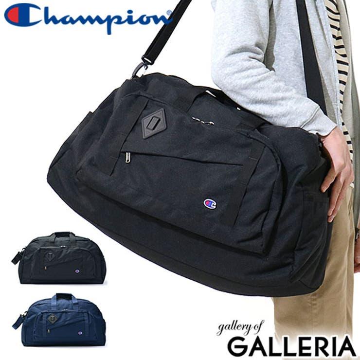 ボストンバッグ Champion ハイランド   ギャレリア Bag&Luggage   詳細画像1