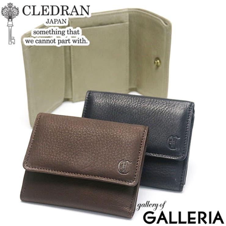 財布 CLEDRAN 三つ折り財布   ギャレリア Bag&Luggage   詳細画像1