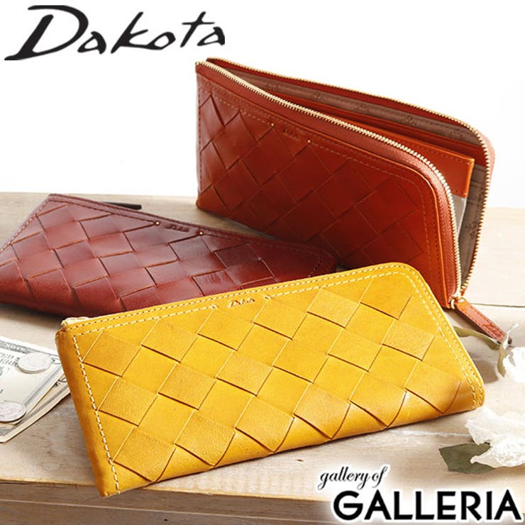 Dakota L字ファスナー長財布 テッセレ   ギャレリア Bag&Luggage   詳細画像1