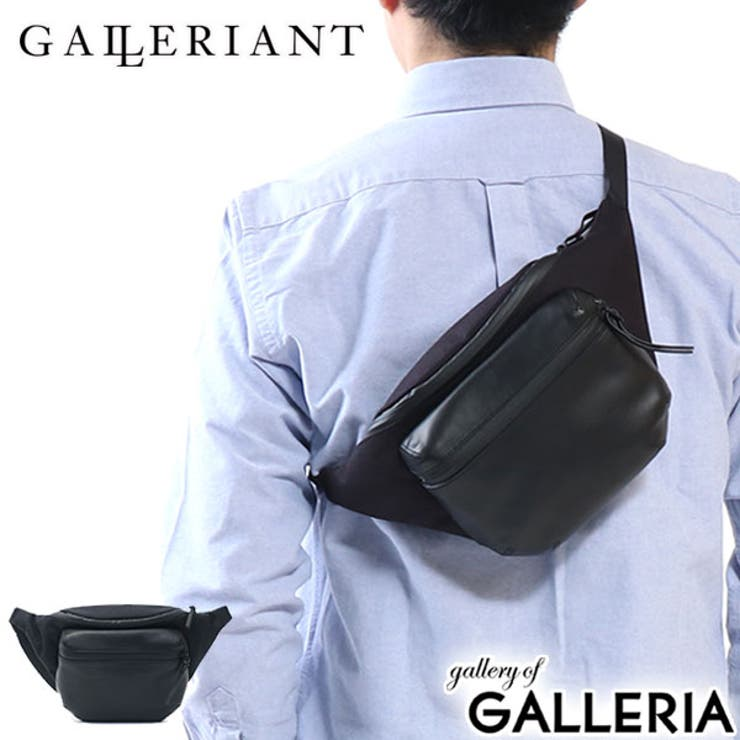 GALLERIANT ウエストバッグ AGEVOLE   ギャレリア Bag&Luggage   詳細画像1