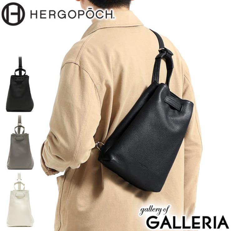 ボディバッグ HERGOPOCH 斜めがけ   ギャレリア Bag&Luggage   詳細画像1