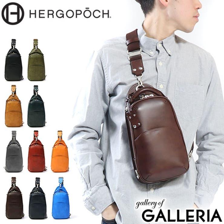 HERGOPOCH ワンショルダーバッグ ボディバッグ   ギャレリア Bag&Luggage   詳細画像1