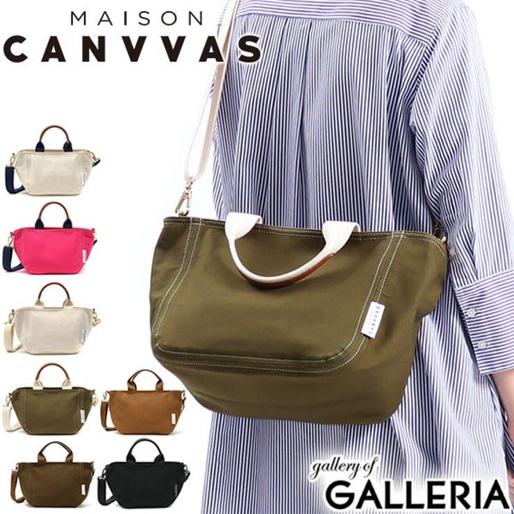 トートバッグ MAISON CANVVAS   ギャレリア Bag&Luggage   詳細画像1
