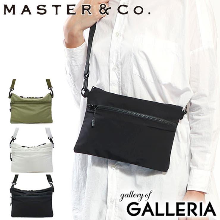 サコッシュ MASTER&Co ショルダーバッグ | ギャレリア Bag&Luggage | 詳細画像1