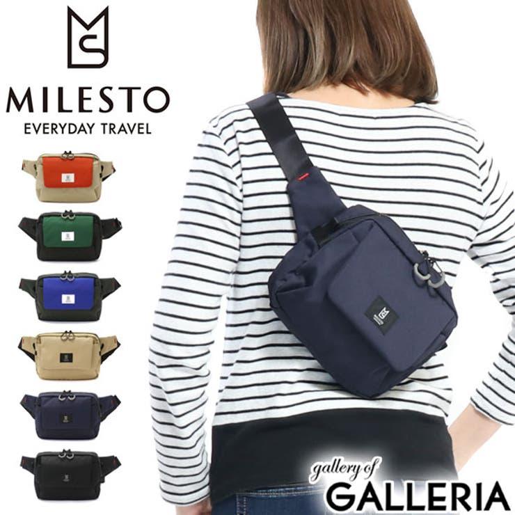 ボディバッグ MILESTO TROT | ギャレリア Bag&Luggage | 詳細画像1