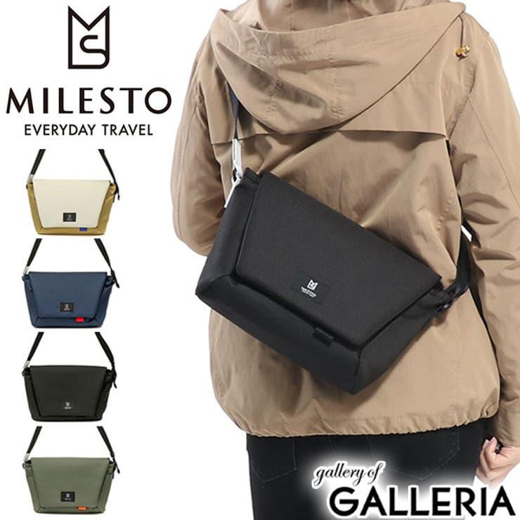 ショルダーバッグ MILESTO Hutte   ギャレリア Bag&Luggage   詳細画像1