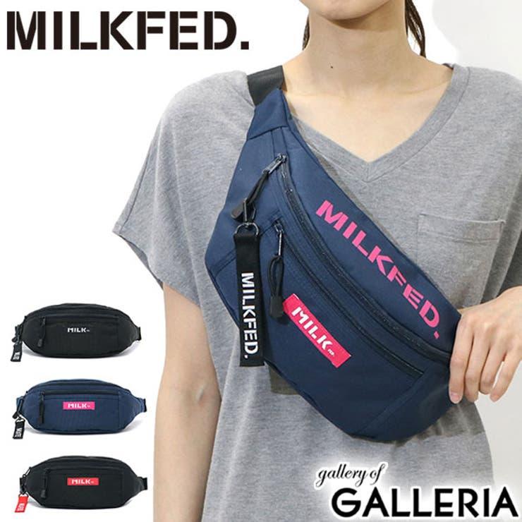 ウエストバッグ MILKFED TOP | ギャレリア Bag&Luggage | 詳細画像1