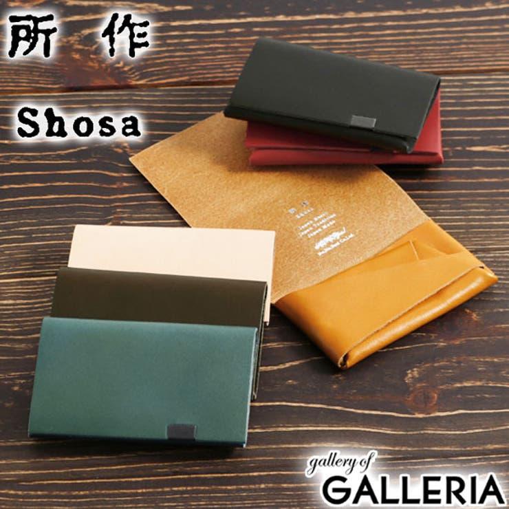 財布 SHOSA ショサ   ギャレリア Bag&Luggage   詳細画像1
