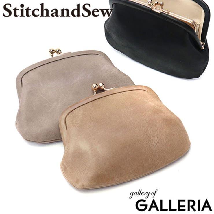 財布 StitchandSew がま口財布 | ギャレリア Bag&Luggage | 詳細画像1