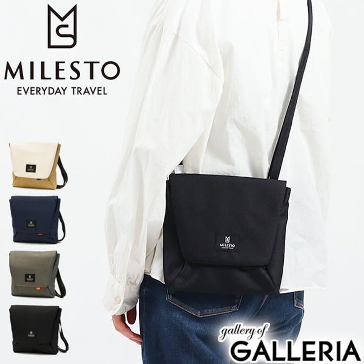 ミレスト ショルダーバッグ MILESTO   ギャレリア Bag&Luggage   詳細画像1