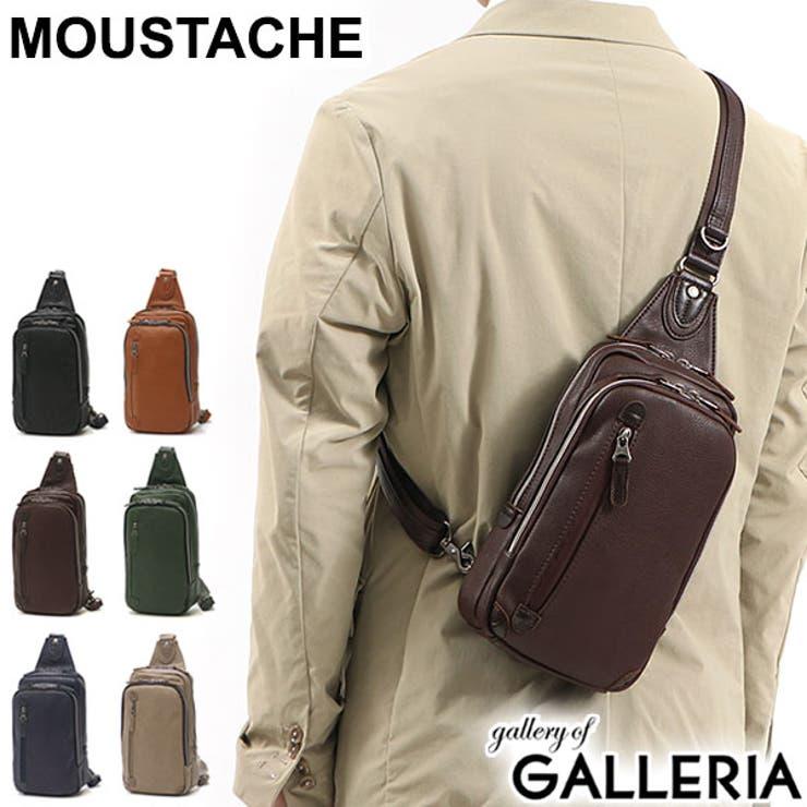 ムスタッシュ ボディバッグ MOUSTACHE   ギャレリア Bag&Luggage   詳細画像1