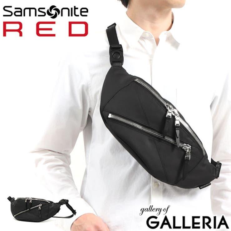 正規品2年保証 サムソナイトレッド ウエストバッグ   ギャレリア Bag&Luggage   詳細画像1
