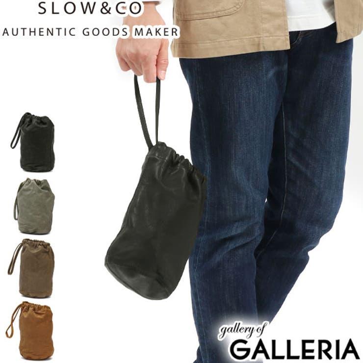 スロウ 巾着バッグ SLOW | ギャレリア Bag&Luggage | 詳細画像1