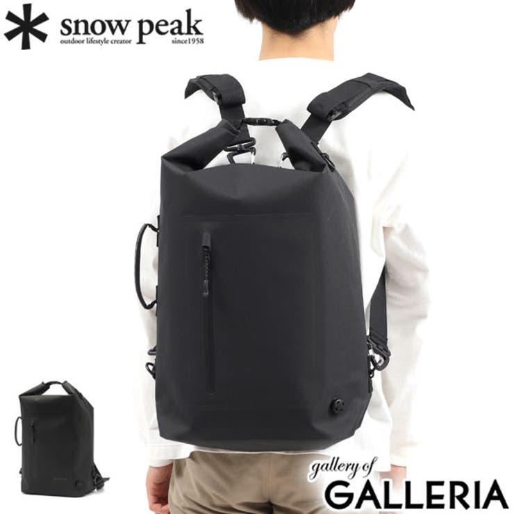 スノーピーク リュック snowpeak   ギャレリア Bag&Luggage   詳細画像1