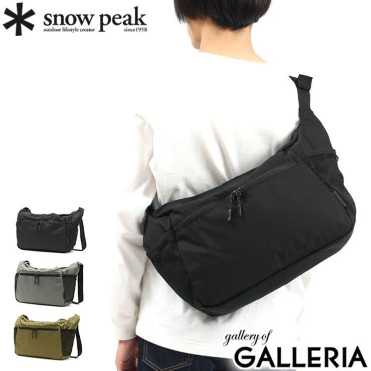 スノーピーク ショルダーバッグ snowpeak   ギャレリア Bag&Luggage   詳細画像1