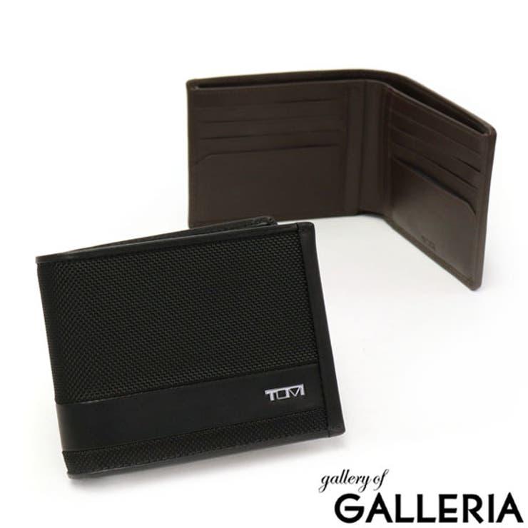 正規品2年保証 トゥミ 二つ折り財布   ギャレリア Bag&Luggage   詳細画像1