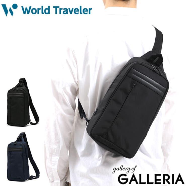 ワールドトラベラー ボディバッグ WorldTraveler   ギャレリア Bag&Luggage   詳細画像1