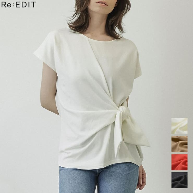 Re:EDITのトップス/Tシャツ   詳細画像