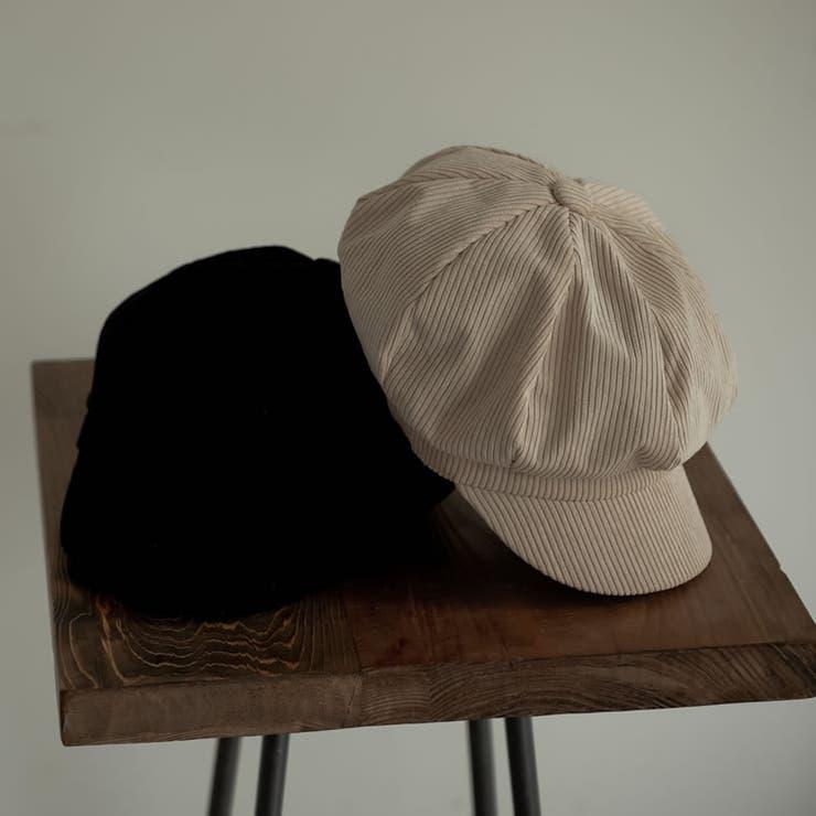 季節感のある着こなしに仕上がるキャスケット コーデュロイキャスケット 帽子 | Re:EDIT | 詳細画像1
