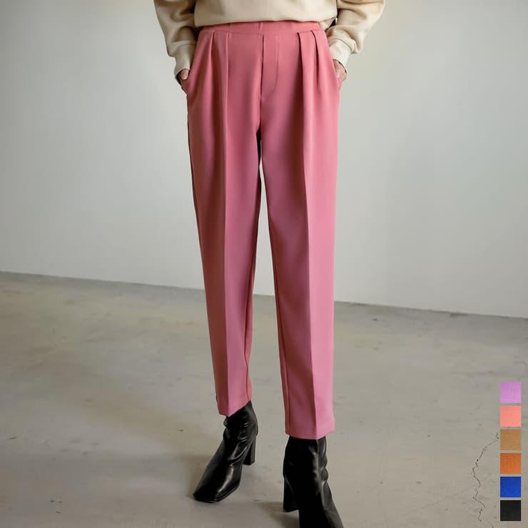 鮮やかカラーで気分も上がる美脚パンツ | Re:EDIT | 詳細画像1