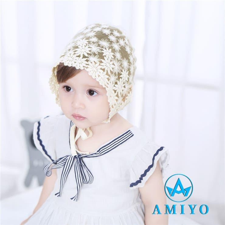 花透かし メッシュハット 7322 | Amiyo | 詳細画像1