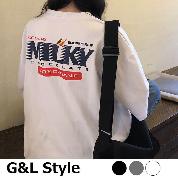 カジュアルプリント 半袖Tシャツ 6164   G&L Style   詳細画像1