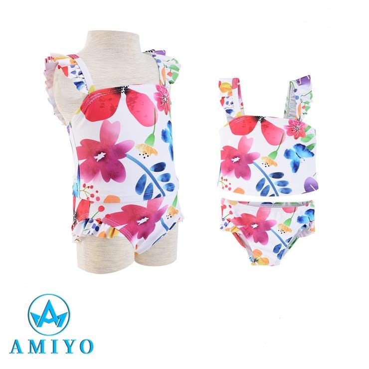 フラワープリント水着セット 6822 | Amiyo | 詳細画像1