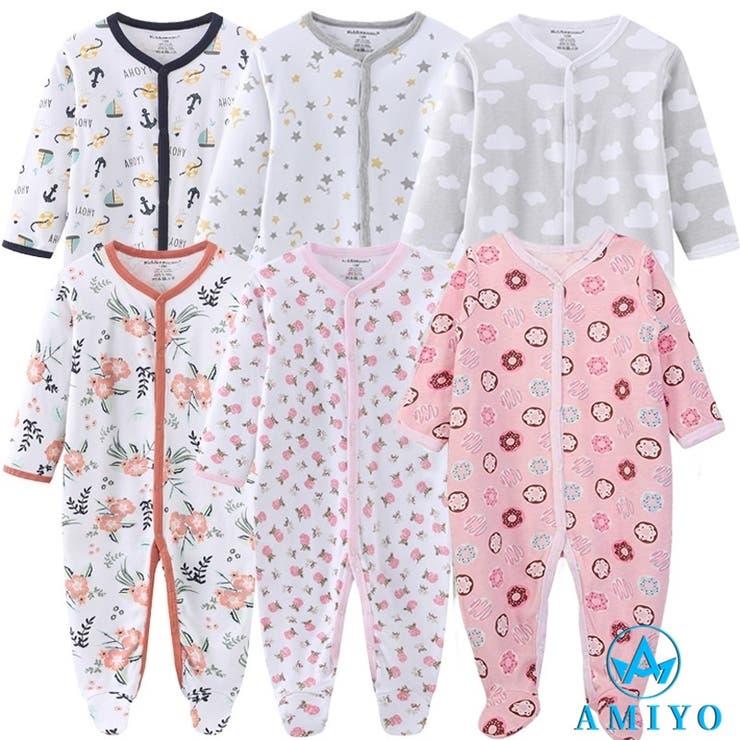 Amiyoのベビー服・ベビー用品/べビーロンパース・カバーオール   詳細画像