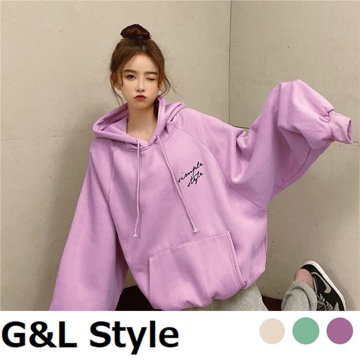 レディース トップス スウェット   G&L Style   詳細画像1